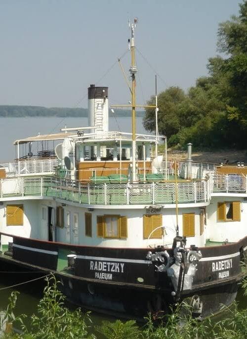 Radetzki Schiff, Donau, Bulgarien